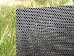 Perforated HDPE sheet