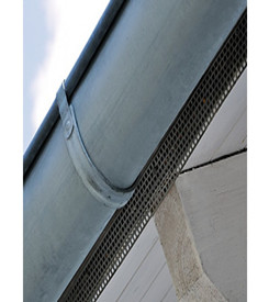 Perforated Plastic Eave Grid