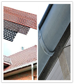 Perforated Plastic Eave Grid Strip